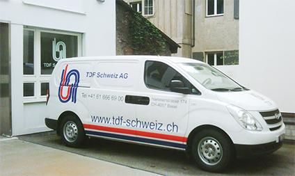 TDF Group / TDF Schweiz AG Equipment