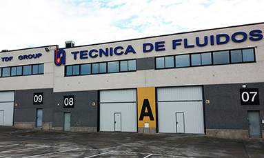 Tecnica de Fluidos' facilities in Ciempozuelos, Madrid
